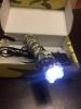 Светодиодный аккумуляторный фонарик
